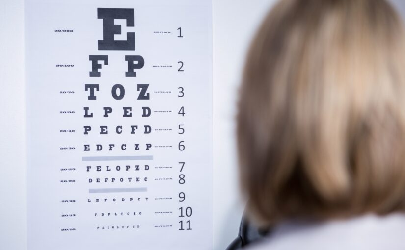 #44 About eye exam